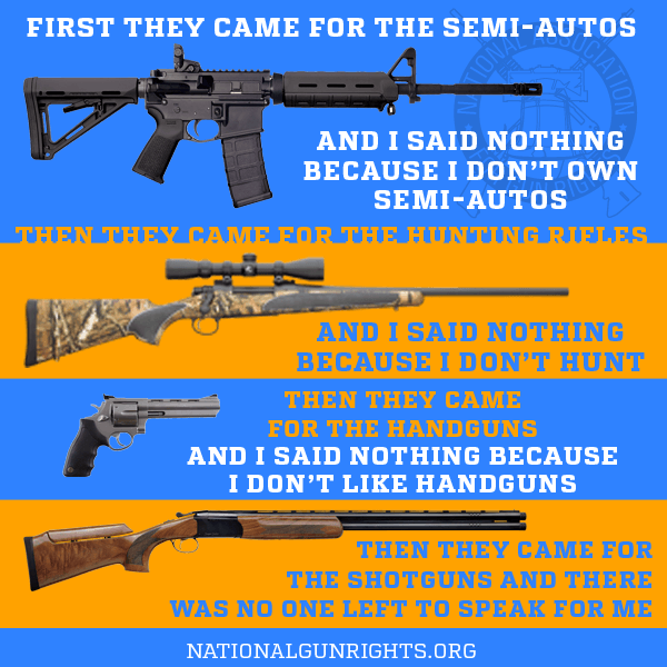 They came for our guns
